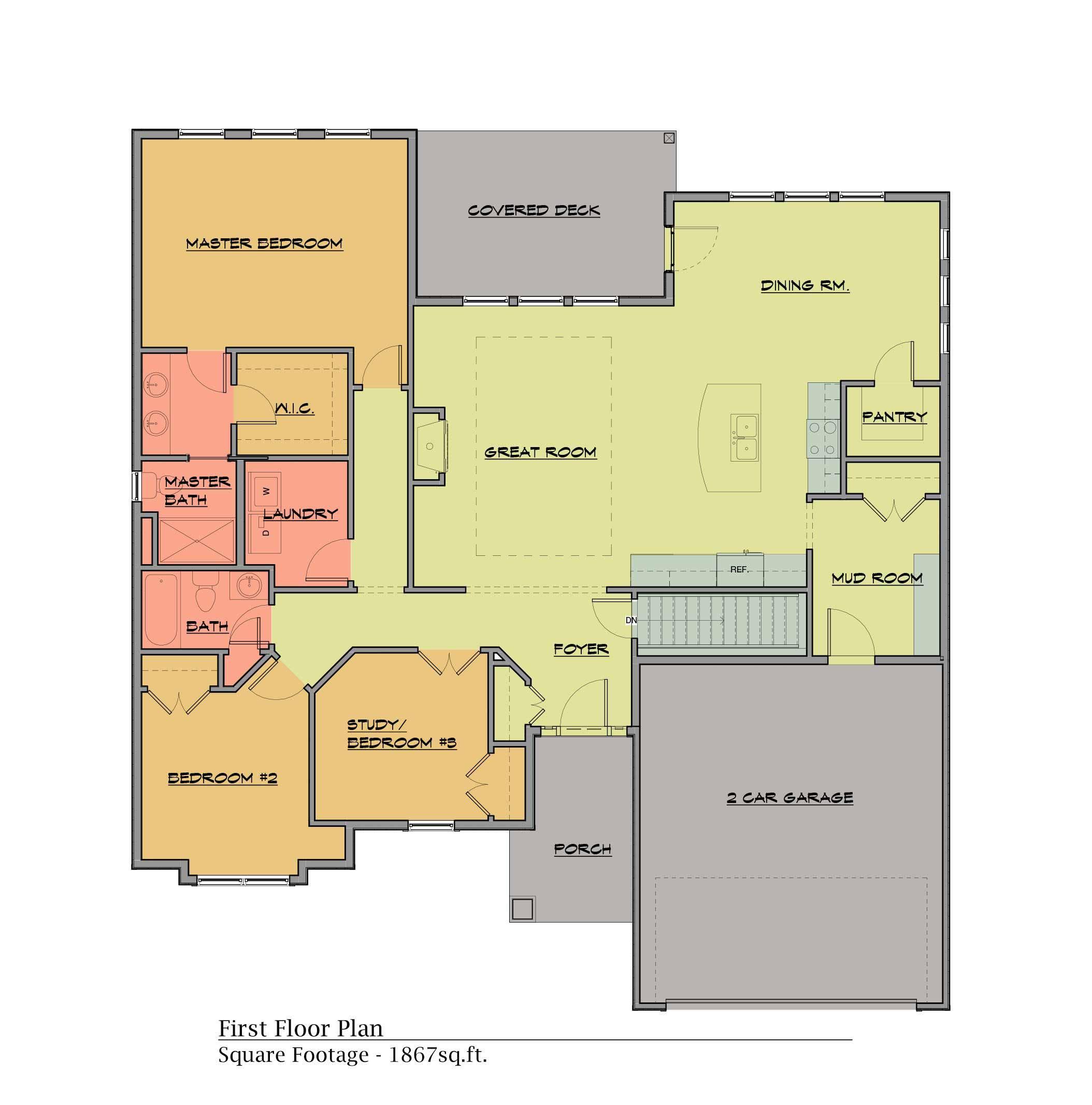 the-williow-floor-plans2020 The Willow (1,867 sq ft)